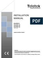 Teletek Eclipse 8 16 32 Installation Manual