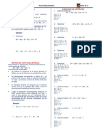ALGEBRA (6TO) Factorización II