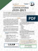 III CONVOCATORIA 2020-2021 - SOCONUSCO EMERGENTE