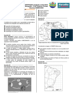 Revisão ENEM 2020 MALB - Geografia - Prof. Robson Pontes