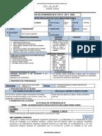 ACTIVIDAD DE APRENDIZAJE Nº 019-3°-III B- UD 3  -2020