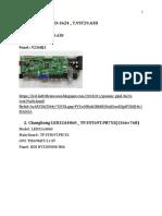 KUMPULAN FIRMWARE LED LCD TV ALL MERK BLM DI DOWNLOAD