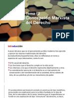 Tema 12. Concepción marxista del derecho
