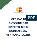 TEMA 6 NORMAS DE BIOEGURIDAD