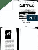 Cautivas. Olvidos y memoria en la Argentina Susana Rotker