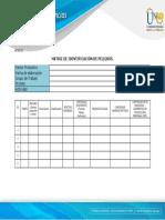 Matriz de Identificación de Peligros MIP Anexo