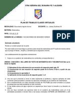 CLASE VIRTUAL DE 9NO ECUACIONES CUADRATICAS