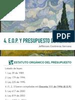 4. HP - EOP y Ppto Rentas