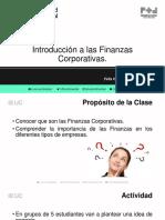 PPT Videoclase 1 - Finanzas Corporativas 1