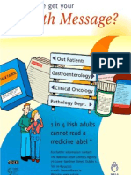 Health literacy poster