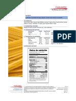 FTE - 03 Ficha Técnica de Pasta larga Spaguetti SOBERANA