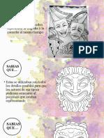 Mascaras teatrales, su origen y mas.