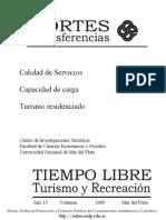 La calidad y los servicios en destinos turísticos maduros., Aportes y Transferencias.pdf