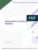 Legislação e Custo de Energia 5