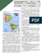 Atividade 8º Ano EF - Geografia - Semana 25