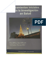 Herramientas Iniciales Para Investigacion en Salud