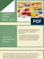 Interacción entre fármacos, alimentos y bebidas.pptx