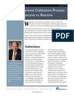 The Re Insurance Collections Process
