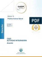 Caso - Actividad integradora sesión 3