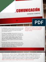 Comunicación. Definición y elementos..pdf