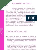 CONTRATO DE SEGURO DIAPOSITIVAS