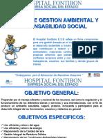 POLÍTICA DE GESTIÓN AMBIENTAL Y RESPONSABILIDAD SOCIAL