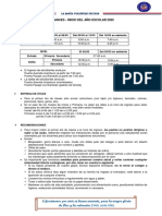 ALCANCES INICIO AÃ'O ESCOLAR 2020