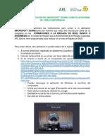 INSTRUCTIVO PROFE CONECTIVIDAD PARA EL CLIENTE VIRTUAL FORMACIONES MES DE AGOSTO DE 2020