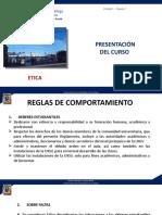 clase 1 -ETICA  Presentación del cuso (1)