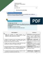 Técnicas de Auditoria - Sarmiento Alejandro