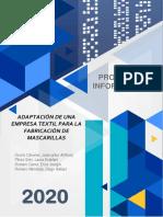 Acta de Constitución - Textiles Camones (Proyectos Informáticos) (1)
