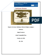 Reporte del libro Babilonia Misterio Religioso Antiguo y Moderno