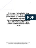 METODOLOGIA DE PRESUPUESTO PARTICIPATIVO 2010 (1)