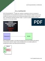 Java Encapsulamiento y reutilización