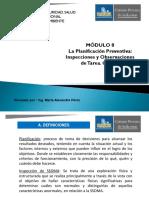 3. Módulo 8. La Planificación Preventiva. Clase 3