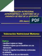 Valorcion Nutricional de la Gestante