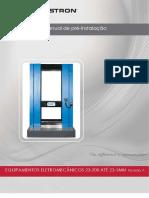Manual de pré-instalação 23-200 até 23-1MN