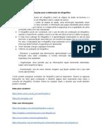 Instruções para a elaboração do infográfico