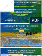 TAXONOMIA DE SUELOS DEL ECUADOR - REQUELME L
