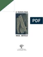 ANTELO - Livro - A ruinologia