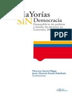 Mayorias sin democracia- Mauricio Garcia Villegas - capítulo 1