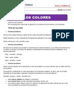 CLASE DE ARTE Y CULTURA 02-04-2020