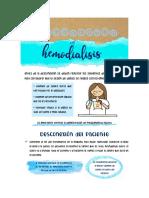 desconexion de hemodialisis