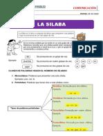 CLASE DE COMUNICACIÒN DEL 28-04-2020