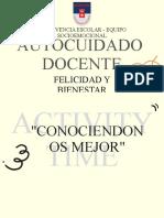 AUTOCUIDADO DOCENTE (bitácora docente)