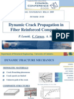 LONETTI P. - Dynamic Crack Propagation in Fiber Reinforced Composites (COMSOL 2009)