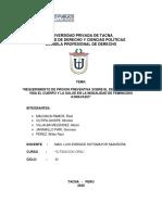 FEMINICIDIO REQUERIMIENTO PRISION PREVENTIVA - Jean Pierre MACHACA
