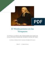 El Wesleyanismo en las Verapaces 2019
