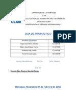 GUIA NO.3 MERCADOS INTERNACIONALES