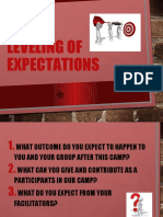 Leveling of Expectations